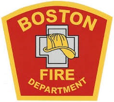 Boston Fire Department 4 Vinyl Decal Eagle Emblems Graphics