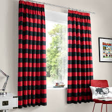 Red And Black Bedroom Curtains Red And Black Curtains Curtains Bedroom Curtains Living Room
