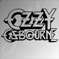 Ozzy Osbourne Vinyl Decal Sticker Funny Car Truck Laptop Classic Rock Ozzfest Wish