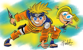 Fairly OddParents' Creator Shares 'Naruto' Crossover