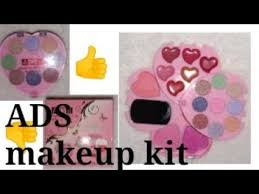 ads fashion color makeup kit review