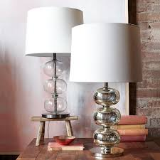 abacus mercury glass table lamp