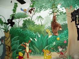 Jungle Themed Kids Room Tropical Kids Tampa By Jtr Contractors Inc Houzz Au