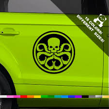 Hydra Logo Car Decal Avengers Truck Or Bumper Sticker Etsy