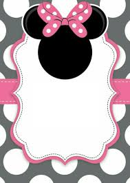 Invitacion Minnie Mouse Invitacion De Minnie Mouse Invitaciones