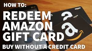 how to redeen an amazon gift card add