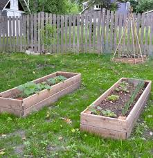 diy raised garden bed and an easy soil