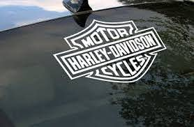 Harley Davidson Logo Cutz Rear Window Decal Motorcycle Truck Car Sticker 45929043110 Ebay