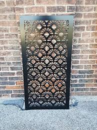 Amazon Com East2us Privacy Screen Metal Garden Fence Decor Art Handmade