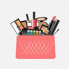 multicolored makeup kit ilration