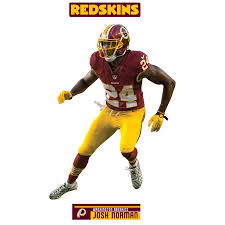 Josh Norman Washington Redskins Fathead 3 Pack Life Size Removable Wall Decal