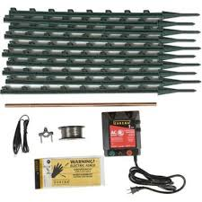 Find Zareba Ac Garden Protector Electric Fence Kit In The Electric Fencing Category At Tractor Supply Co Electric Pet Fen Electric Fence Dog Fence Electricity