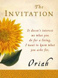 the invitation poem by oriah mountain