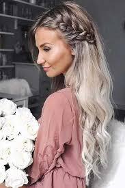 prom makeup long hair is very versatile