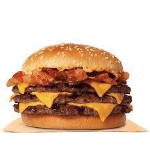 triple stacker king burger king