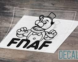 Fnaf Decal Etsy