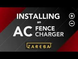 How To Install An Ac Plugin Fence Charger Electric Fence 101 Zareba Youtube