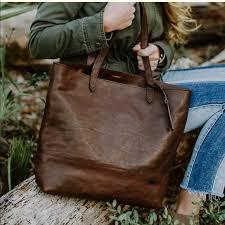 buffalo jackson bags leather tote bag