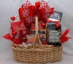 valentine snack basket a gift basket full