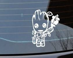 I Am Groot Decal Etsy