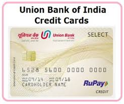 union bank of india credit cards credit