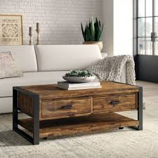51 wood coffee tables to create a cozy