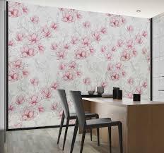 Magnolia Flowers Window Sticker Tenstickers