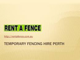 Temporary Fencing Hire Perth By Fencerent Issuu