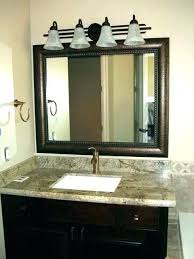 delightful luxury bathroom mirrors wall