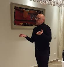 """Hugo Shorter on Twitter: """"Big thank you to Adrian George, Senior Curator at  UK Government Art Collection for installing & presenting great British art  at my Residence… https://t.co/2ldj5lE51R"""""""