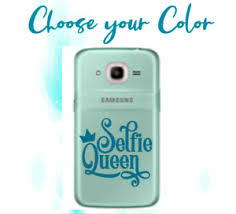 Monogram Decal For Your Cell Phone Cases Sticker Selfie Queen 2 2 5 Ebay