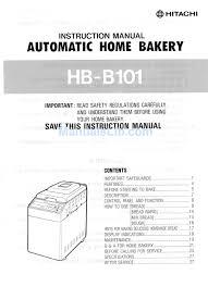hitachi hb b101 instruction manual pdf