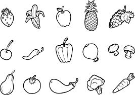 Tổng hợp tranh tô màu chủ đề các loại rau củ quả cho bé yêu thỏa ...