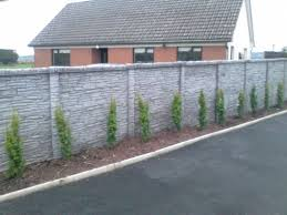 Double Single Sided Concrete Fencing Cork