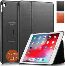 Amazon.com: KAVAJ Case Leather Cover Berlin Works with Apple iPad Air 3  2019 & iPad Pro 10.5