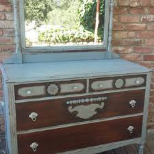 antique dresser with mirror on wanelo