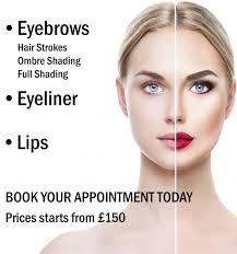 semi permanent make up va salon