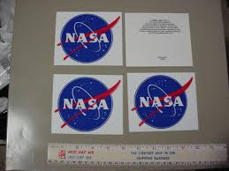 4 Pc Nasa Meatball Decal Authentic 5 Space Insignia Vinyl Decal Logo Sticker 1806439813