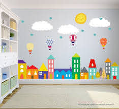 City Wall Decals Wall Decals Nursery Nursery Wall Decal Etsy Baby Wall Decals Nursery Wall Decals Kids Wall Decals