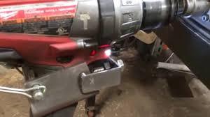 homemade welding turntable you