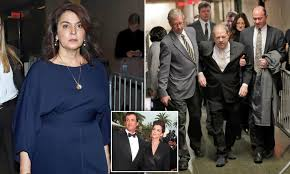 Harvey Weinstein arrives at court to face Sopranos actress and ...