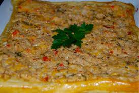 Mushroom Crab Tart