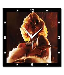 Bluegape Sin City Lady Gaga Wall Clock: Buy Bluegape Sin City Lady Gaga  Wall Clock at Best Price in India on Snapdeal