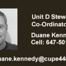 Duane Kennedy – CUPE Local 4400