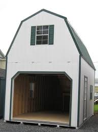 amish built two story storage buildings