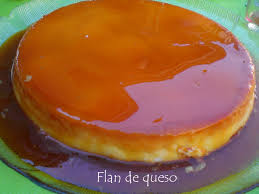 the more rich homemade cheese flan