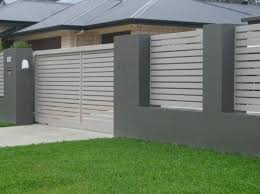 27 Amazing Modern Front Yard Privacy Fence Ideas Frontyard Privacy Privacyfenceideas Fence Design Modern Fence Facade House