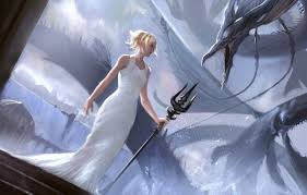 wallpaper dragon final fantasy