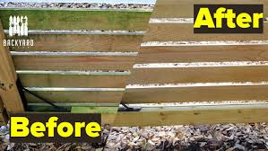How To Clean A Wood Fence Without Pressure Washing Backyardscape