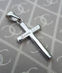 classic plain cross necklace